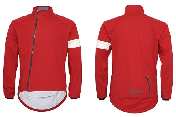 Rapha Rain Jacket Red