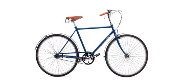 Blue Dutch Bicycle