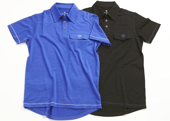 Vulpine Merino Short Sleeve Polo