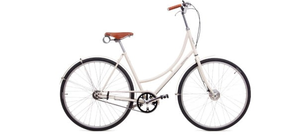 White Dutch Bike