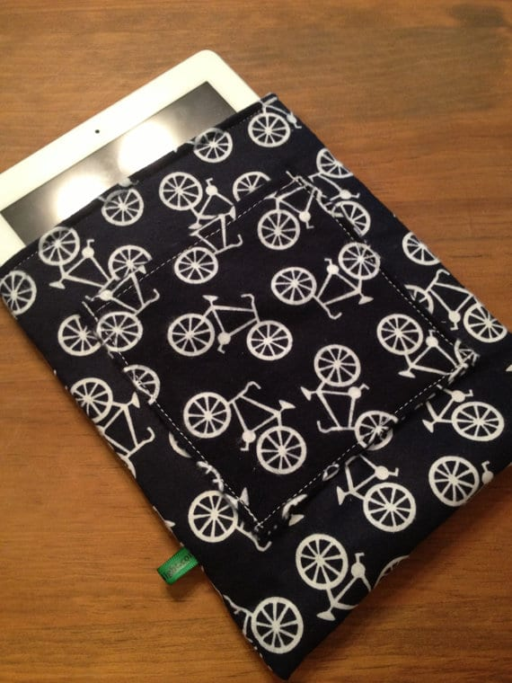 Bicycle iPad Tablet Cover Sleeve