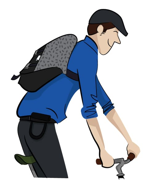 Trakke Cycling Messenger bag