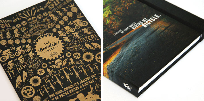 The Beautiful Ride Bike Notebook