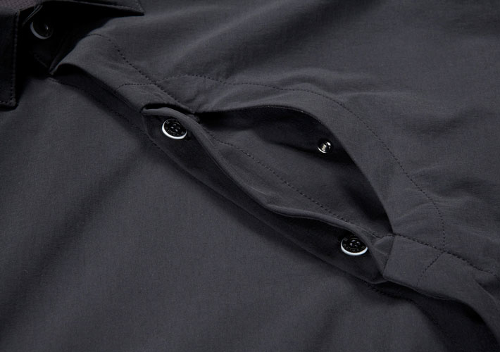 Black Cycling Shirt
