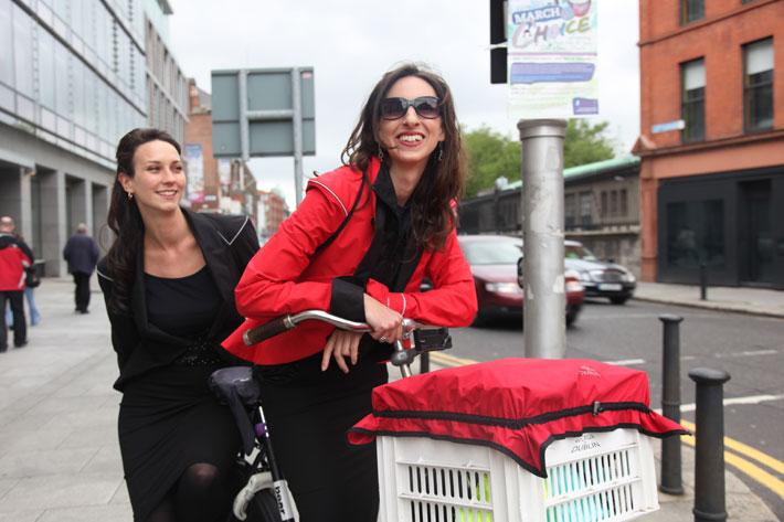 Hustle & Bustle Rain Jacket Cycling