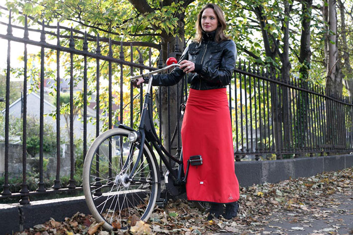 Rainwrap Dress Georgia in Dublin