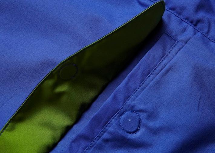 Vulpine Harrington Jacket Blue