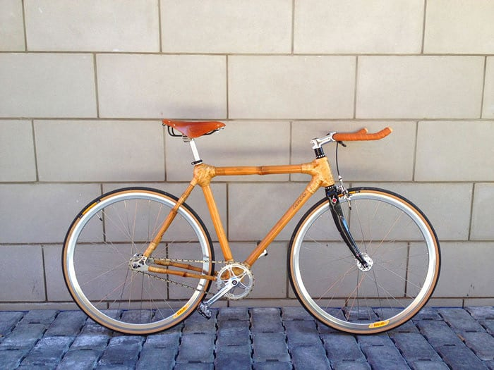 Bamboo Bicycle Wooden