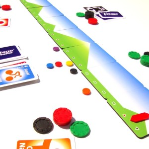Stage Chase Board Game