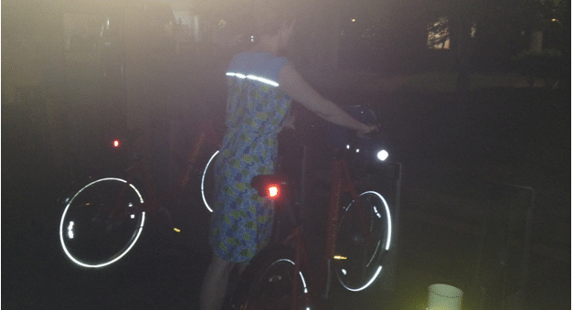 Reflective Cycling Dress