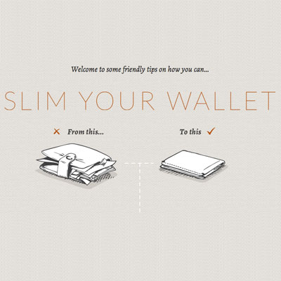 Slim your wallet