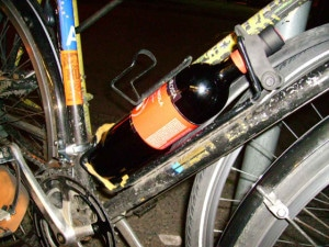 Sugru Bicycle Bottle Holder