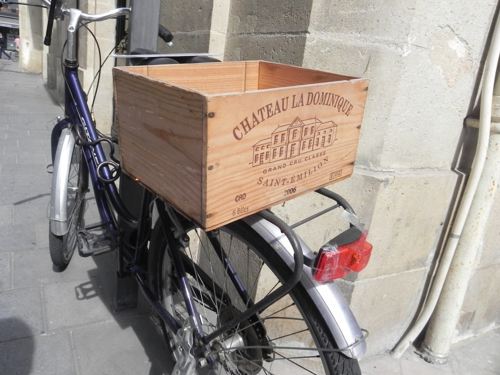 Bicycle Wine Box Rack