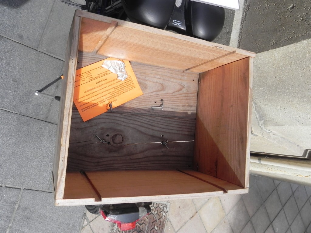 Bike Wine Box