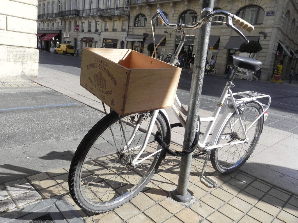 Bordeaux Wine Box Bicycle