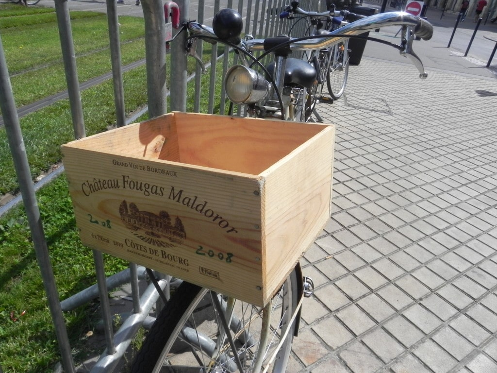 Wine Box Bicycle