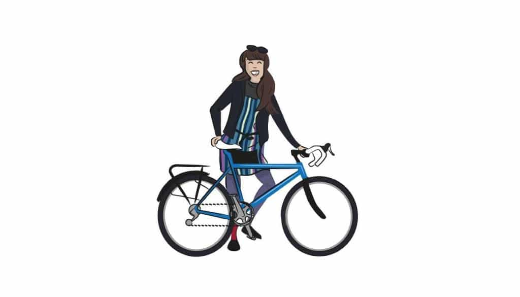Cycling Illustration 2