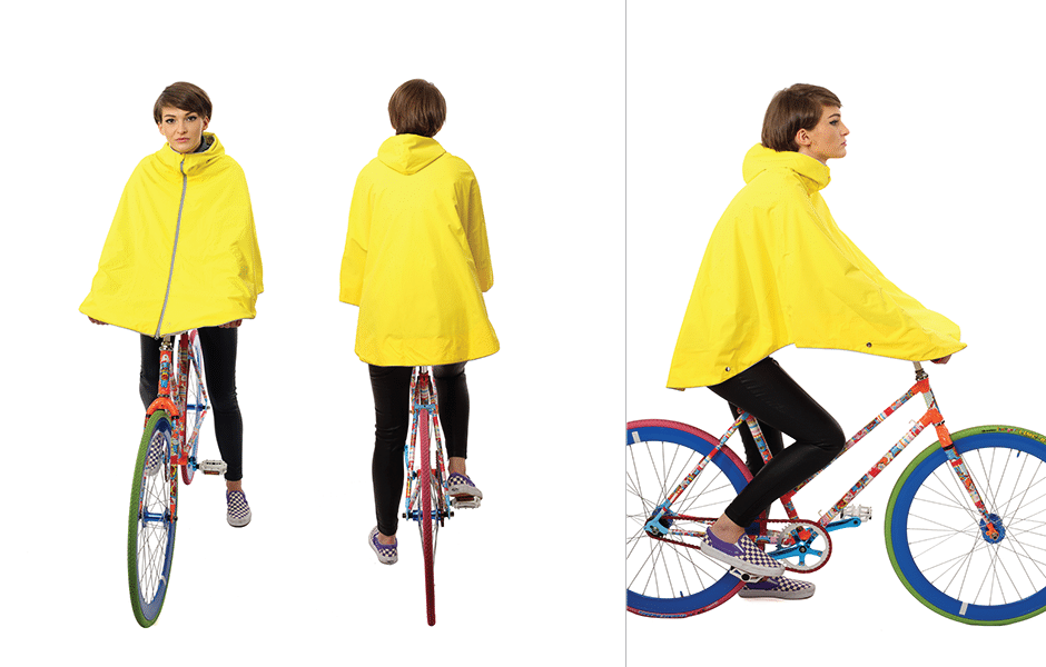 Otto Waterproof Cycling Cape