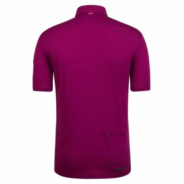 Rapha Merino Polo Purple