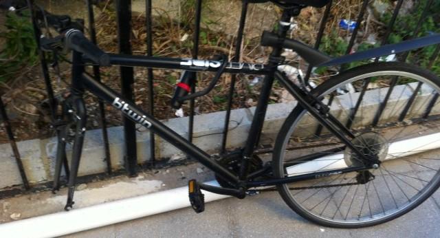 Stolen Bicycle Wheel