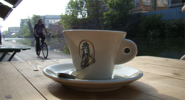 Cyclist-Coffee