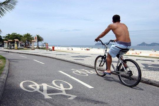 Cycling in Rio de Janiero