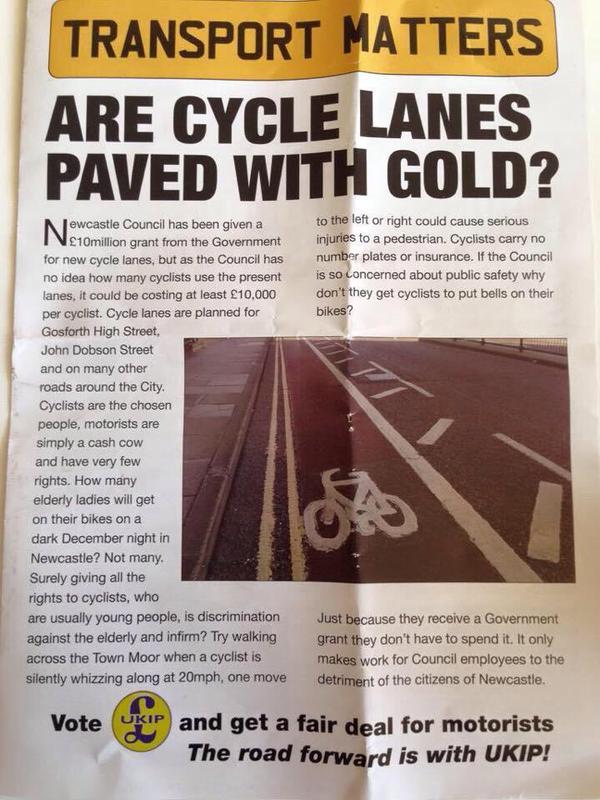 UKIP Cycling