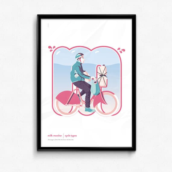 BUY HERE: Ste Illustrates Cycle Types -