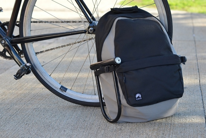 Reflective Cycling Backpacks Lock Holster