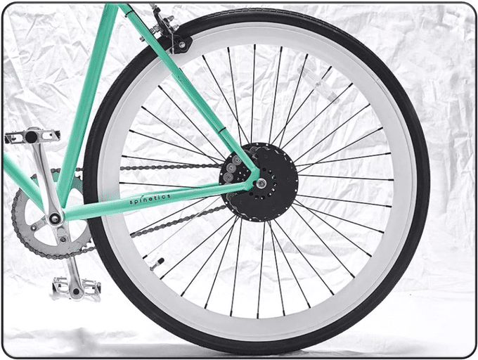 Spinetics Bicycle Wheel Generator