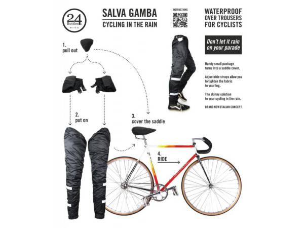24Bottles Salva Gamba Waterproof Trousers