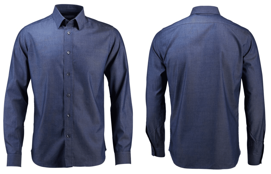 Cafe du Cycliste Armelle Blue Shirt Men