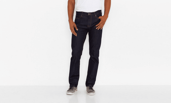Levis 504 Commuter Cycling Jeans