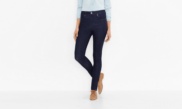 Levis Commuter Ladies Cycling Jeans