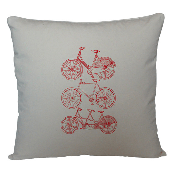 Cycling Cushion Cover