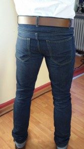Resolute Bay Cordura Jeans Back