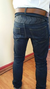 Resolute Bay Cycling Jeans Rear