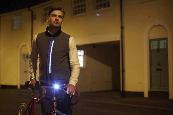 Holloway Gilet LED lights LUMO