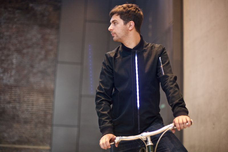 LUMO LED Bomber Jacket - Front