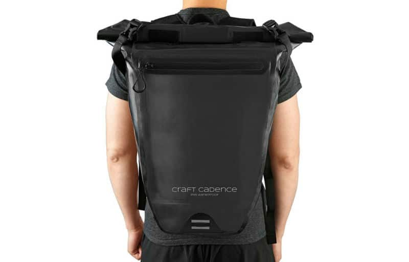 61e885b367 The Best Waterproof Backpack for Cycling  Craft Cadence IPX5 Review ...