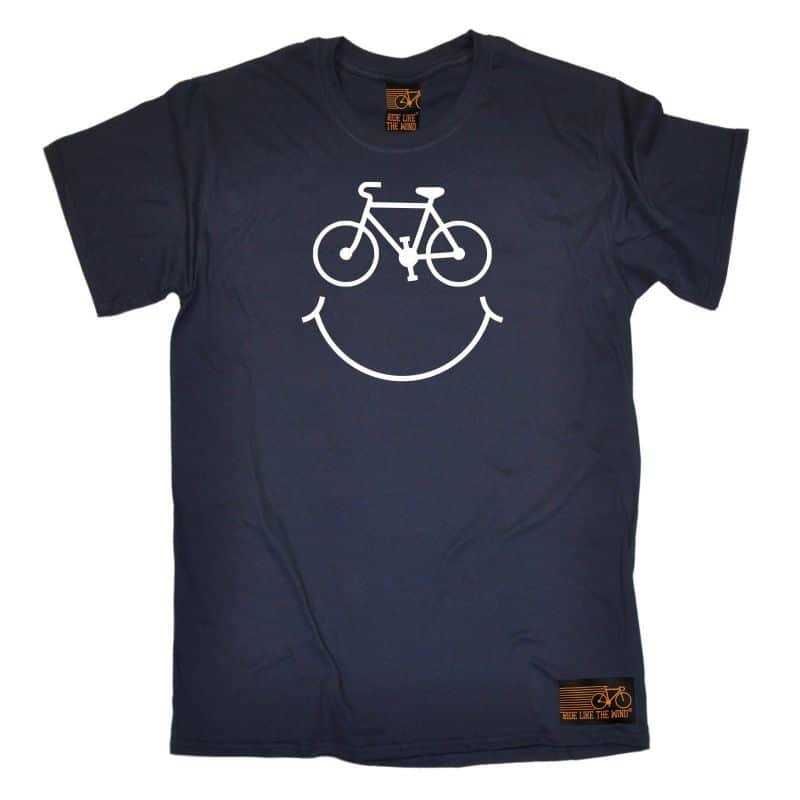41 Happy Cycling T Shirt 1079