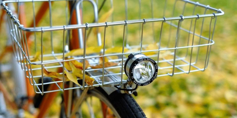 Bike Cycling Dynamo Lights Set Safety No Batteries Needed Headlight Rear