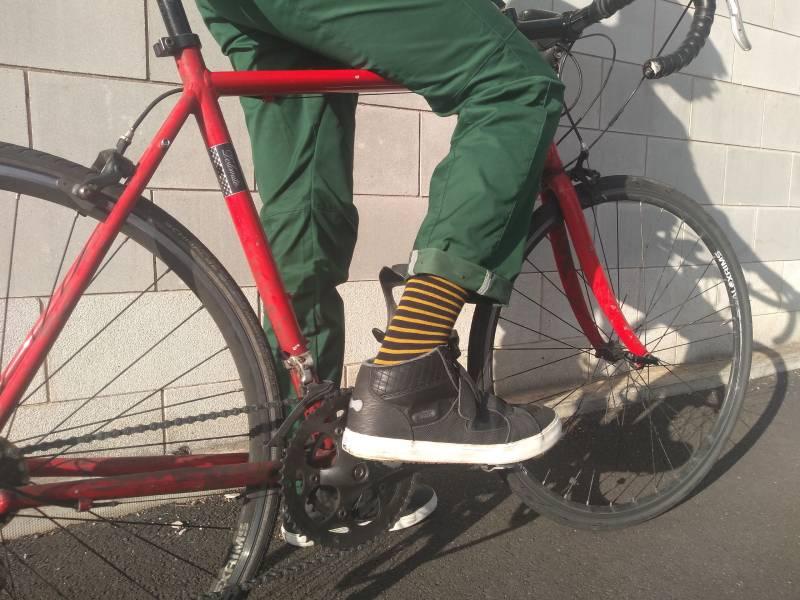 vulpine cycling rain trousers