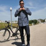 Vulpine Denim Workers Reflective Cycling Jacket